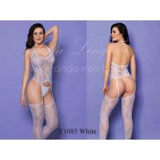 4001 Bodystocking  y1085 - White