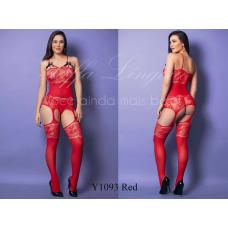 4001 Bodystocking 1093 - Red